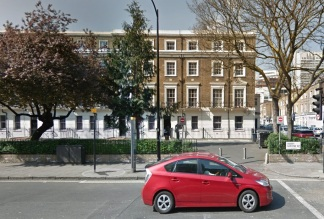 Horace Lloyd's home (Google Maps)
