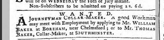 Ipswich Journal 6 July 1765