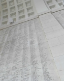 The huge Menin gate lists the names of all the fallen with no known grave.