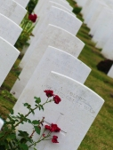 Two thirds of the burials at Tyne Cot are unnamed.