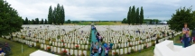 Tyne Cot cemetery - with over 11,000 graves, it is the largest Commonwealth war cemetery in the world.