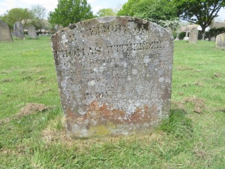 All Saints, Biddenden. Thomas Witherden and Lydia Witherden nee Hope.