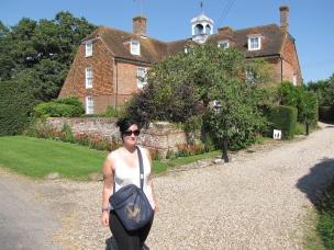 Me, outside River Hall