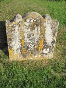 Grave of Rich Richard and his wife, Frances Witherden