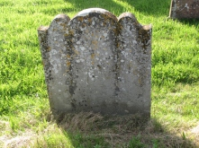 Grave of Crusty Richard and his wife, Sarah Elphicke