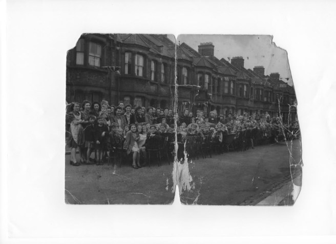 Street Party, Auberon Street, Silvertown 1945