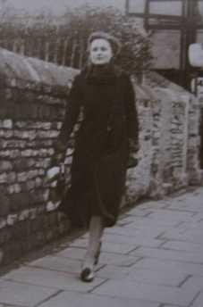 Jean walking